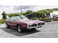 QUICK SALE WANTED LHD 1973 DODGE CHARGER AMERICAN MUSCLE CAR MAKE A OFFER