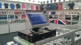 "15"" Touchscreen Epos for Retail Store or Bar Restaurant Cafe. Excellent Condition Software & Setup"