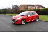 S w a p or px Read add 2007 Peugeot 207 gti turbo THP octane pack low miles s/h