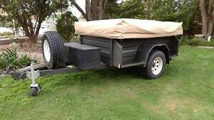 Heavy duty camper trailer. Oztrail canvas, 7x4, lots of extras! Murray Bridge Murray Bridge Area Preview