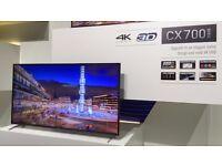 """55"""" PANASONIC VIERA CX700 4K UHD SMART 3D LED TV"""