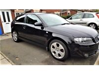 stunning condition audi a3 sport 78k loads of history well looked after may px swap for bigger car