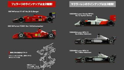 Kyosho 1/64 Ferrari F1-87 F2001 McLaren Honda MP4/4 5SETFormula F1 Suzuka LEGEND segunda mano  Embacar hacia Mexico