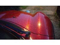 Custom red metal flake (£4000 job) Mini Cooper low miles