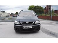 Vauxhall zafira gsi 2.0 turbo 16v 200bhp 7 seater 5 speed manual with private number plate is rare