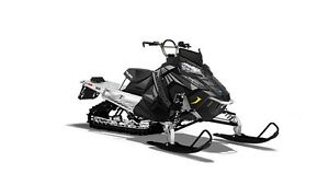 2017 Polaris 800 RMK ASSAULT 155POWDERBLACK / 45$/sem garantie