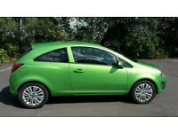 Vauxhall corsa d breaking green
