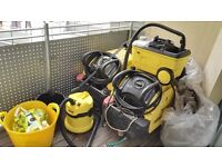 Car washing business all karcher equipment for start the car washing business