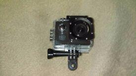 HD 1080P Waterproof Helmet/Dash Cam