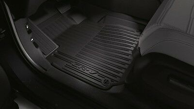 2017 2018 Genuine Honda CR V High Wall All Season Floor Mats   CRV 08P17 TLA 110