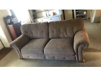 Sofa & arm chair. 2 years old, good condition