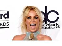 Britney spears tickets O2
