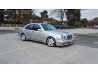 mercedes e55 w210 amg 1998 year automatic 5.5 petrol 390bhp 99k 12 months mot