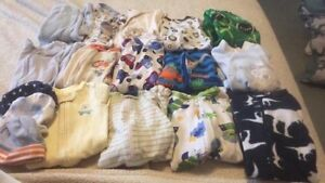 Newborn, 0-3 and 3 month clothes