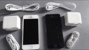 iPhone 5 black or white 16gb unlocked
