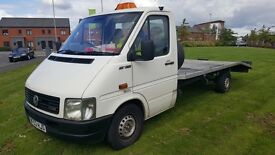 BARGAIN CHEAP 2003 53 VW LT35 RECOVERY TOE TRUCK*NEW ENGINE FITTED ETC* MAY SWAP PX CATERING VAN