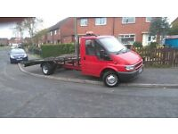 2004 transit recovery truck 2.4 tdi rwd /remote winch / ramps / swapz??