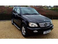 2003 LHD Mercedes ML 400 V8 CDI DIESEL AUTO 4X4, 7 SEATER OPTION LEFT HAND DRIVE