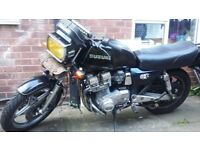 Suzuki gsx750 ex old skool muscle bike