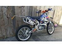 Yz 250 road legal ktm/cr/kx/rm