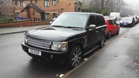 Range rover vogue v8 4.4 l322 5 speed automatic