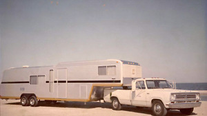 LOOKING FOR: 70's 5th Wheel Camper