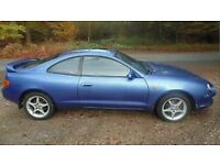 1996 (p) Toyota celica 1.8 st (spare/repare) needs new cam shaft NONE RUNNER