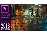 ADOBE PHOTOSHOP, ILLUSTRATOR, INDESIGN CC 2018,etc... PC/MAC