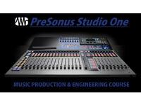 Music Production and Engineering Course - Presonus Studio One