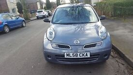 Nissan Micra cheap tax insurance and running costs REDUCED FOR QUICK SALE