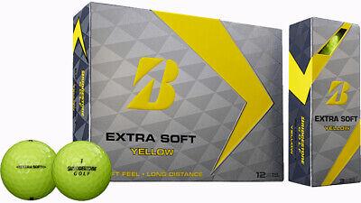 BRIDGESTONE EXTRA SOFT YELLOW GOLF BALLS - BEST BALL FOR PRICE BAR NONE (3)