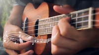 Ukulele, Guitar and Voice lessons  online. Register today!