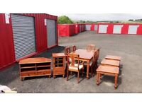 Full set dining room furniture (Delivery Included)
