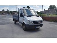 Mercedes sprinter tipper 313 cdi 2.1 turbo diesel 130bhp 2010 reg
