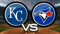 Tornoto Blue Jays vs Kansas City Royals - June 21-27, 2017