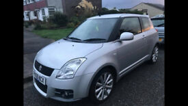 2009 Suzuki Swift Sport 1.6VVT Great Sporty little Car FSH 17inch Alloys may px