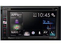 Pioneer Avic F960DAB Double din AV Navigation system, Built in DAB and Bluetooth