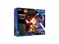 PS4 SLIM 500GB BLACK WITH LEGO BUNDLES