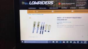 lowering kit for vw golf