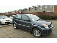 07 fusion 1.4 tdci private plate low miles