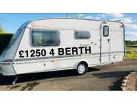 CHEAP CARAVAN @ £1250 - READ ADD - FOR PARTS OR REPAIR- CAMPERVAN CONVERSION ETC