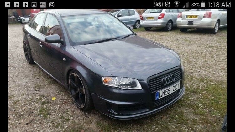 Audi A4 tfsi Quattro Dtm styling loads of mods  Subaru bmw turbo vxr | in  Featherstone, West Yorkshire | Gumtree