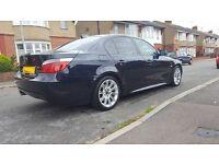 2006 E60 BMW 525D M SPORT, 12 MONTHS MOT! ££££ SPENT, AUTO, F/H/LEATHER, NAV, VXR GOLF DSG 320D 123D