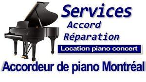 Accordeur de piano Montréal