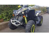 """CAN AM RENEGADE XC 1000 (2014) QUAD ATV 4X4 540 MILES """"ROAD LEGAL"""""""