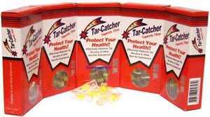 Tar Catcher Disposable Cigarette Filter Holders 5 Packs of 30 NEW