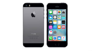 iPhone SE 60 gig Black and Silver & iPhone 5S 16 gig Gold