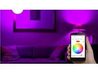 Smart led Light bulb (can be controlled via an app)