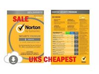 Norton Internet Security PREMIUM 2016/2017 - 1Device PC Mac iOS Android RRP £39.99 BARGAIN