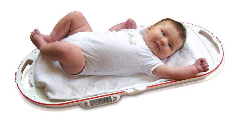 SOEHNLE Babywaage 8320 mit Klappfunktion 10 g Einteilung max. Belastung 15 kg